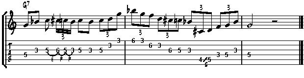 how to use blues scale in jazz