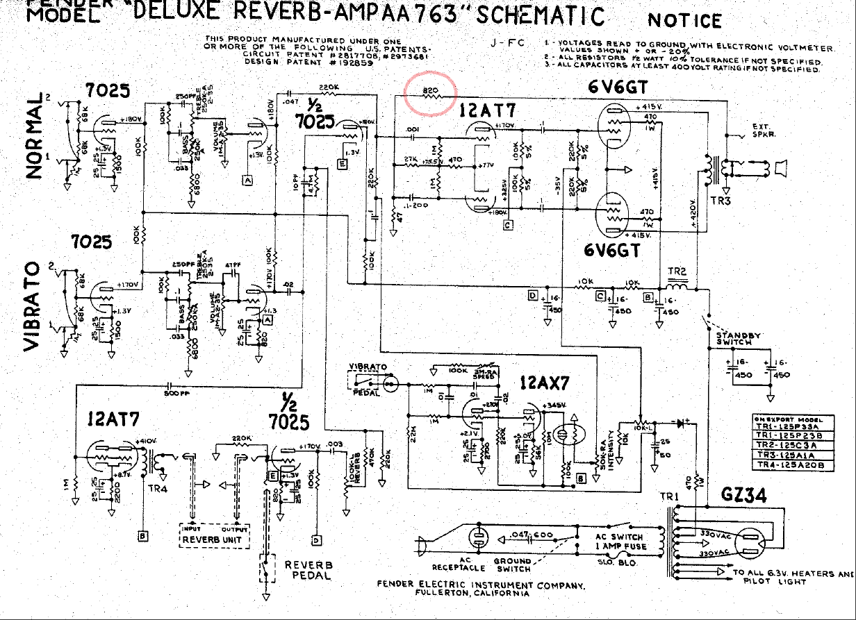 2014 Azztechs Page 8 Jimi Hendrix Fuzz Face Pedal Circuit Diagram Logical Schematics For Deluxe Reverb But Similar With Pro Aa763 Nbf