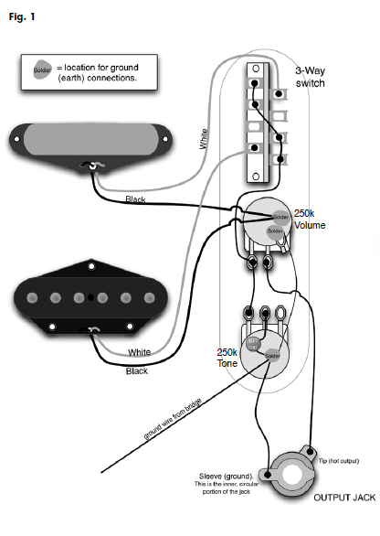 52 cadillac wiring diagram telecaster project – page 2 – :>)azztechs# 52 telecaster wiring diagram