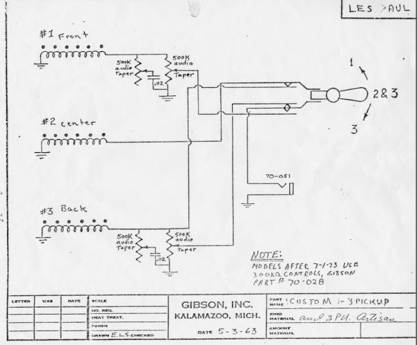 LesPaul schematic 50