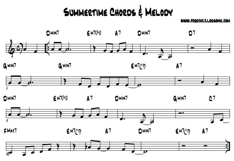 summertimechords