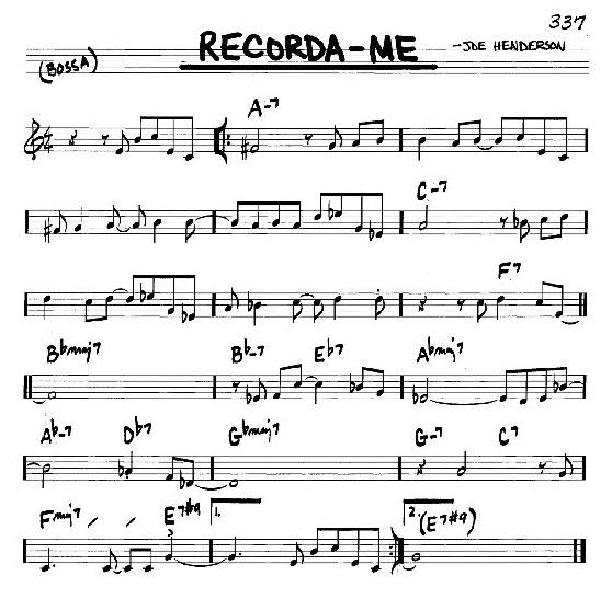 Recordame theme