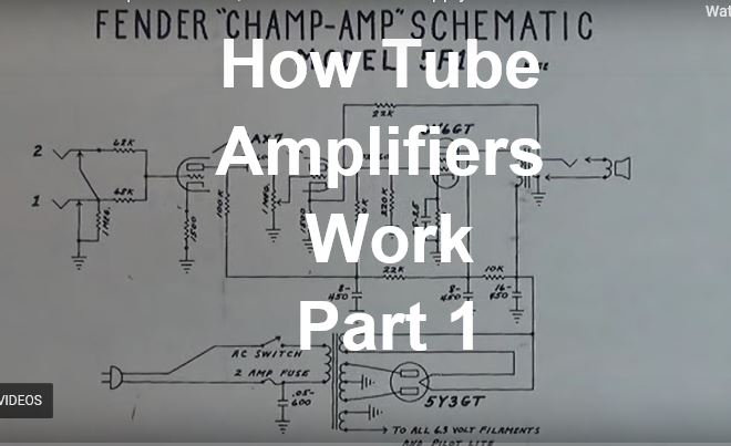 How Tube Amps work (video explained) – :>)azZTechs# Fender Greta Schematic on