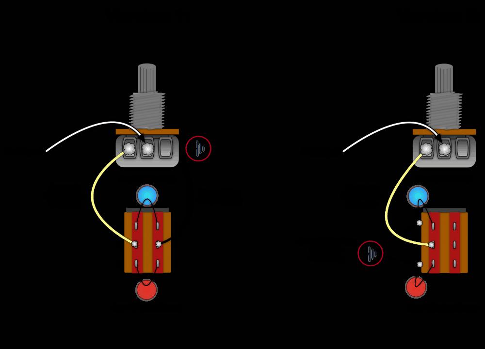 Guitar Mod (2 Tone caps, & Push-Pull pot) – :>)azZTechs# | Push Pull Tone Pot Wiring Diagram |  | azZTechs
